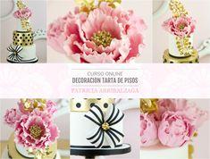 Curso Online de Decoración de Tartas de Pisos - Patricia Arribálzaga www.cakeshautecouture.com
