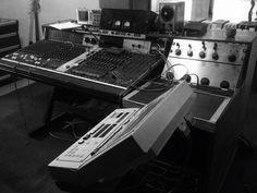 An old school analog recording studio!