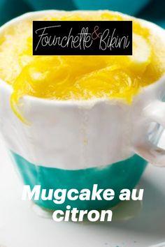 Découvrez notre recette de mugcake au citron ! Cereal, Pudding, Breakfast, Desserts, Food, Queso Blanco, Healthy Recipes, Sugar, Sweet Treats