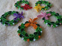 2014 Christmas decorations - my own original designs - Facebook.com/Zen Quilling