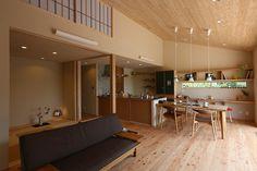 写真06|K様邸/プレジール/OM/平屋(H26.9.5更新) Japanese Home Decor, Japanese Interior, Japanese House, Residential Interior Design, Interior Design Living Room, Interior Architecture, Interior Decorating, Modern Japanese Architecture, Dream House Interior