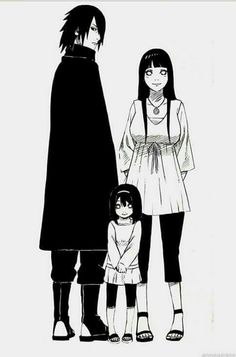 If Sasuke and Hinata had a child their child would have a mix of byakugan and sharingan.