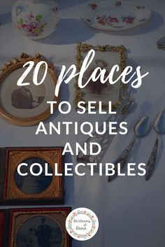 Want to find out who& buying antiques near you? We& sharing where to sell antiques to make the most profit, including some places you may have never thought of exploring. Antiques Online, Sell Antiques, Antiques For Sale, Antique Show, Antique Books, Antique Items, Vintage Items, Vintage Jewelry, Garage Sale Tips