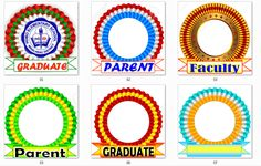 Graduation Ribbons & New Grad Program Template - DepEd LP's Graduation Images, Graduation Templates, Preschool Certificates, Award Certificates, Daily Lesson Plan, Teacher Lesson Plans, Summative Test, Award Template, Program Template