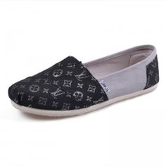 $27.09 on sale! Men Canvas Louis Vuitton Gray Shoes sale on toms outlet.