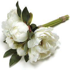 White Peony Bouquet...