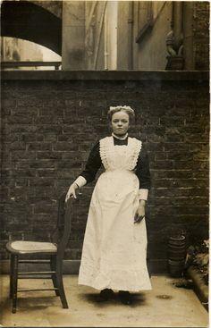 maid costume 1880s - Google Search