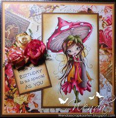 Your Birthday ~colors used are: Skin: R20 - E11 - E00 - E000 Her: E18 - E25 - E17 - E13 - E01 Pink: R59 - RV29 - RV14 - RV23 - RV11 - RV00 Yellow: YR27 - YR14 - YR23 -YR31 - YR30 Green: E87 - YG95 - YG91 Steel + inside edge mushroom: E77 - E74 - E93 - E70 Wings: YR83 - YR31 - YR30.