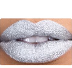 Instead of merlot lips...SILVER lips! Though actually I have an idea for making a bit of both work.