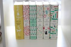 Puffin and Penguin Classics - York Avenue - Beautiful book cover pattern design