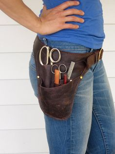 Sewing Belt - A tool belt for those who sew.