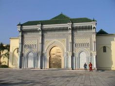 Royal Palace of the Moroccan Monarchy. Rabat, Morocco.