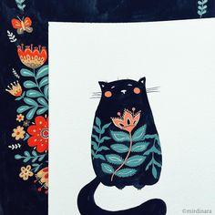 Kitty kitty Dinara Mirtalipova