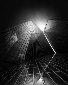 Photography, Digital in Construction, Edifice, Building, Long Exposure, _Pennzoil Place, Houston, TX – Arch. Philip Johnson_   Details about the creation of the image in my blog post http://blog.jul… - Image #533070, Greece
