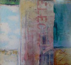 "Saatchi Art Artist: marion elliott; Paint 2013 Collage ""Bill Board 2"""