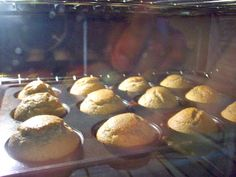 Banana Oatmeal Muffins...currently in the oven ready to be devoured on our weekend getaway to the mountains! :)