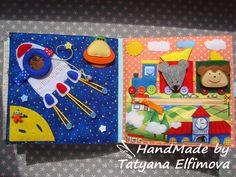 Купить развивающую книжку ручной работы Татьяны Елфимовой