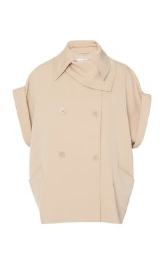 Max Mara Auronzo Double-breasted Wool-twill Jacket In Neutral Fashion Details, Diy Fashion, Fashion Outfits, Fashion Design, Co Ords Outfits, Mode Outfits, Cute Comfy Outfits, Pretty Outfits, Iranian Women Fashion