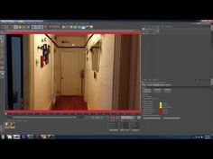 Tutorial : Cinema 4D Camera Mapping and Camera Projection Part 1