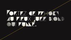 Paranoid / a free font project by GrafikWar (dot) com , via Behance