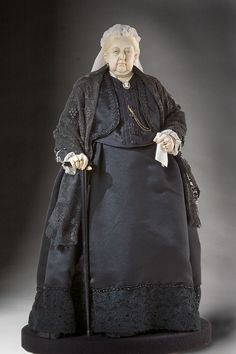 Queen Victoria 1900 - Figure from the Museum of Ventura County collection.  Historical Figures Collection by George Stuart.