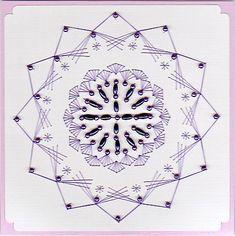 ED123 Geometric mandala