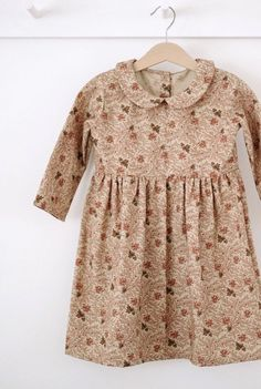 Handmade Vintage Style Floral Dress | SweetHannahBDesigns on Etsy