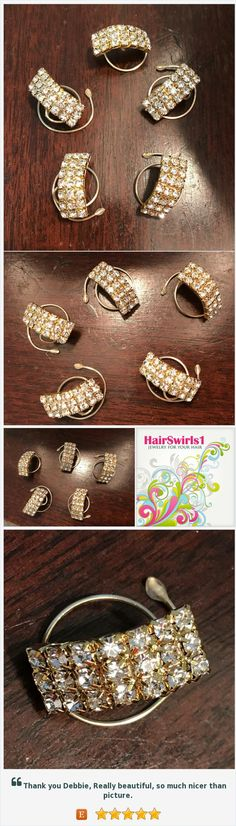 Wedding Hair Jewelry-Ballroom Dancer-Bridesmaid-Bride Hair Swirls-Hair Spins Spirals Coils Hair Twists Beautiful hair accessories for ballroom dancers, ballerinas, brides, bridesmaids, maid of honor, mother of the bride, prom, ice skaters, debutante ball, Marine Corps Ball, and every other occasion! Find lots of designs and colors at HairSwirls1.com or HairSwirls.com https://www.etsy.com/HairSwirls1/listing/548300696/wedding-hair-jewelry-ballroom-dancer?ref=shop_home_feat_3