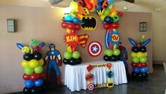 Balloon superheroes