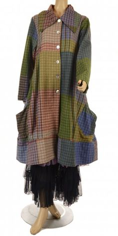 Wool coat - Grizas - daretobeme.com