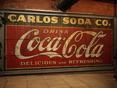 Old Coca Cola sign @ The Underground, Atlanta, Georgia by Lars Juhl Jensen, via Flickr