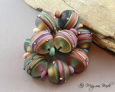 Magma Beads Painted Desert Handmade Lampwork Beads | eBay