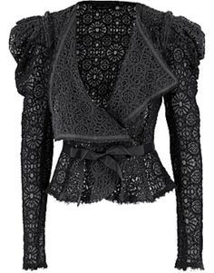 One of my favourite pieces, Bolongaro Trevor Lace Jacket