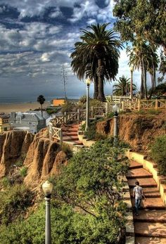 Palisades Park en Santa Mónica, California
