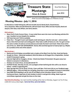Click the link to view our July 2016 newsletter:  http://treasurestatemustangclubgf.weebly.com/uploads/2/6/9/1/26917180/july_2016_newsletter.pdf