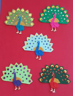 Fun with Friends at Storytime: Five Fancy Peacocks!