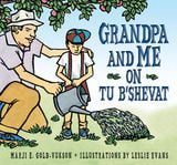 Tu B'Shevat, or Birthday for the Trees, is depicted as a celebration of the generations in this artfully done book.