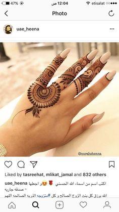 Best Henna Brand for Tattoos . Best Henna Brand for Tattoos . Mehndi Designs For Fingers, Mehndi Art Designs, Latest Mehndi Designs, Henna Tattoo Designs, Mehndi Patterns, Simple Mehndi Designs, Finger Mehendi Designs, Henna Tatoos, Henna Art