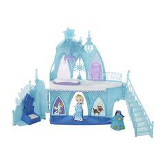 Amazon.com: Disney Frozen Little Kingdom Elsa's Frozen Castle: Toys & Games
