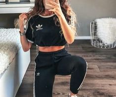 Sport clothes for teens schools cute outfits 48 ideas for 2019 Sport Outfits clothes Cute Ideas outfits schools Sport teens Teen Fashion Outfits, Trendy Outfits, Fall Outfits, Cute Casual Outfits For Teens, Cute Sporty Outfits, Dance Outfits, Fashion Ideas, Looks Adidas, Mode Adidas