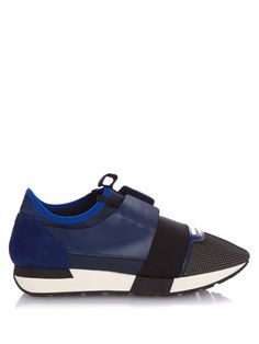Balenciaga Multicolor Mesh & Leather Sneaker, Blue In Bleue Navy Blue Sneakers, Blue Trainers, Navy Shoes, Shoes Sneakers, Milan Fashion Weeks, New York Fashion, Victorias Secret Models, Victoria Secret, Curvy Petite Fashion