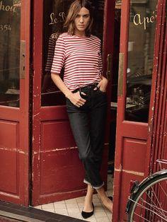 С приветом из Парижа: Алекса Чанг, романтика и универсальные образы в летней кампании AG - журнал о моде Hello style