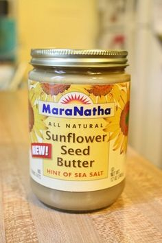 Mara Natha Sunflower Seed Butter- definitely need to check this stuff out