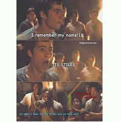 Teen wolf and The maze runner funny crossover XD