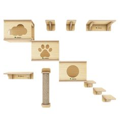 Hotel Gato, Cat Hotel, Cat Park, Cat Playground, Outdoor Cats, Pet Furniture, Animal House, Cat Design, Place Card Holders