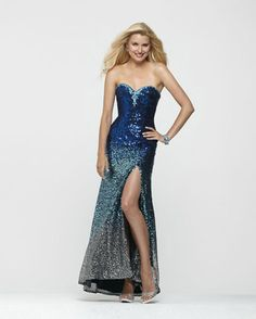 If you want to be Sapphire Starlet for Prom preview the 2013 Clarisse Prom Collection. This is new collection that Starlet added for 2013.  We love it and hope you do too!  Starlet suggests this stunning sapphire blue ombre Clarisse Dress Style 2163. #prom