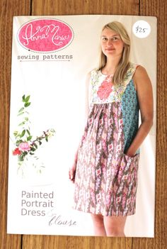 Image of Anna Maria Horner Painted Portrait Dress pattern