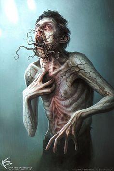 Horror Art by Ken Barthelmey