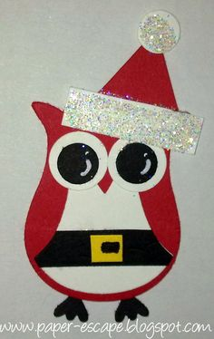 Paper Escape ~ Olivia Moore: Stampin'Up! Demonstrator Australia: Christmas with the Owl Punch