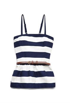 Darling Striped Peplum Top (Kids) | FOREVER21 #F21Girls #Stripes #Peplum (teachnicaly a kids shirt but they should make it bigger dpi can get it:P)